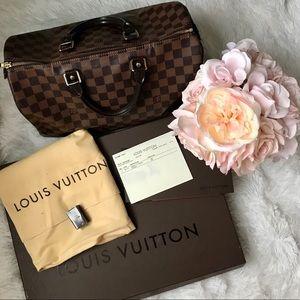 ♥️ Louis Vuitton Speedy 35 Damier Ebene ♥️